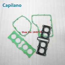 motorcycle dirtbike FZR250 FZR250R FZR250RR 3LN engine gasket include cylinder gaket for Yamaha 250cc FZR 250 RR seal parts