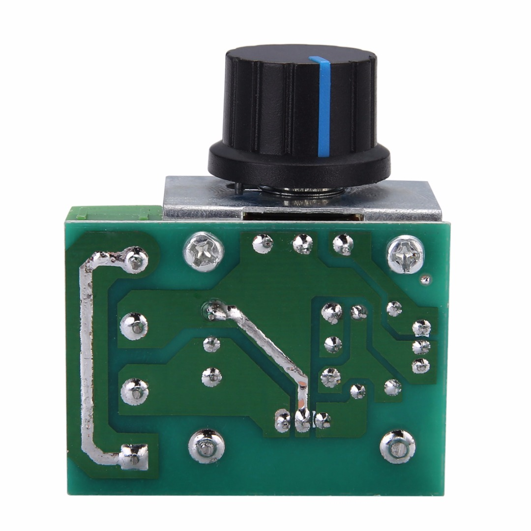 Mayitr Electrical Voltage Regulator 50-220V 2000W High Torque AC Motor Dimmers SCR Controller Knob Switch Speed Control Tool