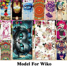 Soft Silicon Plastic Cell Phone Covers Cases For Wiko Ridge 4G Pulp 4G Rainbow Jam 3G Housing Bag Skin Cat Tiger Shell Hood Case