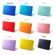 NEW Matte Hard Case Cover For Macbook Mac book 11 13 15 Air Pro Retina 11.6 12 13.3 15.4 inch Laptop Cases