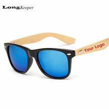 Custom Logo Bamboo Foot Sunglasses Men Wooden Sunglasses Women Original Wood Sun Glasses Customerized 20 pcs/set Wholesale