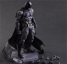 Batman Action Figures Play Arts Kai Dawn of Justice PVC Toys 270mm Anime Movie Model Heavily-armored Bat Man Playarts Kai