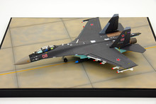 Russia Airforce Sue 35 flight model SU-35 fighter aircraft simulation aircraft model collection 1:72