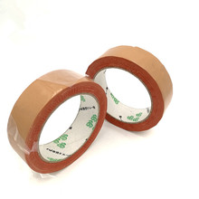 1piece x Brown 1.3cm Thick, 15M/Roll, 30mm Wide Single Sided Adhesive Industrial Heavy packaging/ tents repair/carpet tape