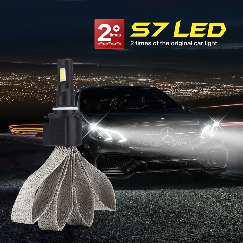 All In One LED HB4 9006 Headlight Conversion Kit 60w 6400LM Auto  Headlamp Top HID Xenon Kit 12v Fog Car Auto Bulb Lamp Light<br><br>Aliexpress