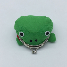 30 PCS/lot Naruto Frog plush toys Wallet Light For Girl 12CM(China)