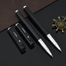 JINHAO Brand 101 Black Metal Roller Pen Chinese Ball Pen for Kids Writing Gift School Supplies Free shipping 3363