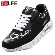 ToLFE Brand Newest Running Shoes Men Outdoor Sport Shoes Cushioning Women Sneakers Professional Athletic Shoes for Couple 36-44