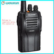 Wouxun KG-833E 2way radio without keyboard VHF/UHF private  best handheld walkie talkie