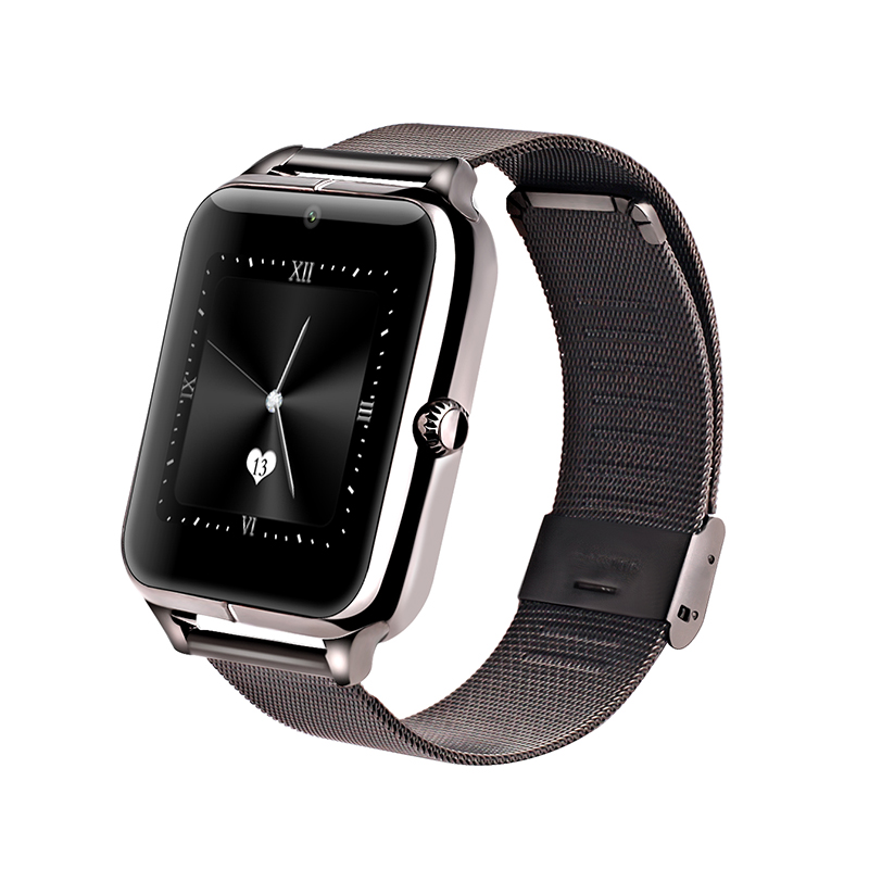 New Bluetooth Smart Watch Z50 with heart rate SIM card TF mp3 mp4 compatible with apple and Android Phones<br><br>Aliexpress