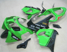 Fit For Kawasaki Ninja fairings Zx9r 2003 2002 02 03 ( Green ) Racing Fairing kit +free EMS xl74