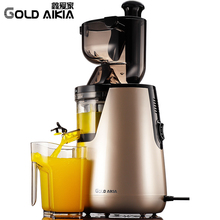 Gold Aikia Single Gear Slowly Auger Juicer Blender Low Speed Juicer Extractor Citrus Orange Sugar Cane Fruit Juicers GDA-1000(China)