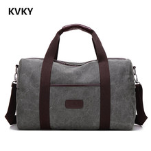 Buy 2017 New Vintage Men Canvas handbag High Travel Bags Large Capacity Women Luggage Travel Duffle Bags Folding Bag bolsas for $20.79 in AliExpress store
