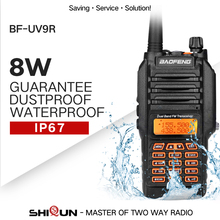 Upgrade Baofeng BF-UV9R IP67 Waterproof Dual Band 136-174/400-520MHz Ham Two Way Radio UV-9R Baofeng 8W Walkie Talkie 10KM Range