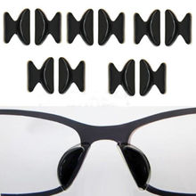 Useful 5Pairs Soft Non-slip Silicone Nose Pad For Glasses Eyeglasses Sunglass