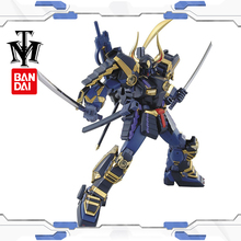 Bandai Hobby 1/100 True dynasty warriors Gundam Musha MK-II model Puzzle assembled Robot boy Anime Action Figure toy gift gunpla