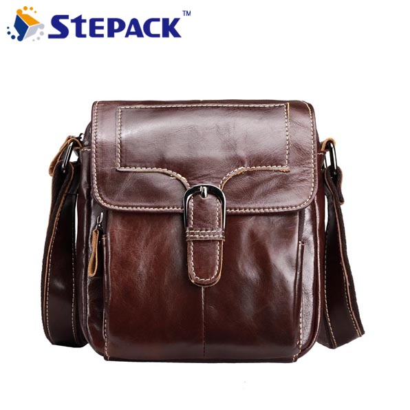 2017 New Arrival Genuine Leather Women Bag Vintage Women Shoulder Bag Ladies Messenger Bag Casual Oil Wax Leather Balsas WMB0221<br>