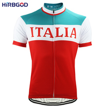 HIRBGOD 2017 Cycling Jersey Short Sleeve Men Italy Breathable Bike Clothing Men Summer Quick Dry Mtb Maillot Clothes Wear,HI056