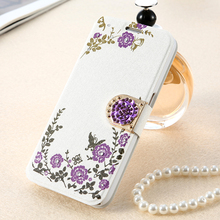 KISSCASE Phone Case For Samsung S8 S8 Plus Glitter Secret Garden Diamond Cases For Samsung S7 S7 Edge Bling Leather Flip Cover