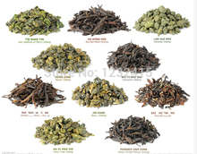 Promotion!Natural Organic 10 Different Flavor Health Care Milk Oolong Tea Dahongpao Tieguanyin Green Black Puer Tea
