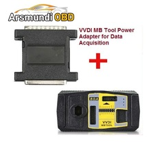 Original Xhorse VVDI MB BGA TooL For Benz Key Programmer Plus VVDI MB Tool Power Adapter for Data Acquisition