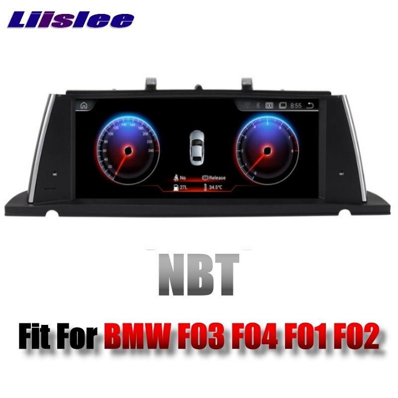 For BMW 7 F03 F04 F01 F02 NBT 2013~2015 LiisLee Multimedia GPS Audio Hi-Fi Radio Stereo Original Style For NBT Navigation NAVI 01