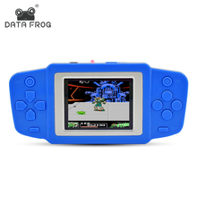 Data Frog Portable Video Game 2.5 Inch Game Consoles Best Gift For Kids Built In 269 Classic Games Handheld Gaming Players