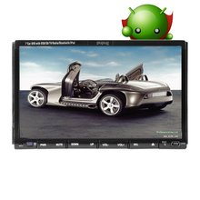2015 New HOT Design PUPUG Android 4.2 System 7-Inch Double-DIN In Dash Car DVD Radio Stereo Player Head Deck Touchscreen LCD Mon