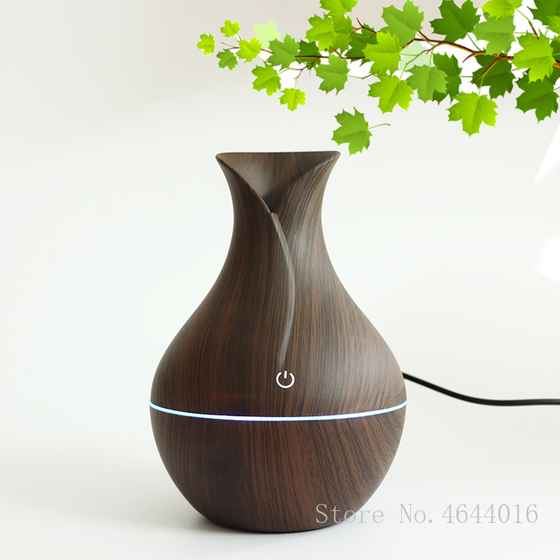 USB Aroma Essential Oil Diffuser Ultrasonic Cool Mist Humidifier Air Purifier 7 Color Change LED Night light for Office Home(China)