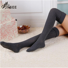 Hot Long leg warmers for boots Women Ladies Winter Popular Soft Knit Ankle Warmers Crochet Sock thick leg warmers tf8