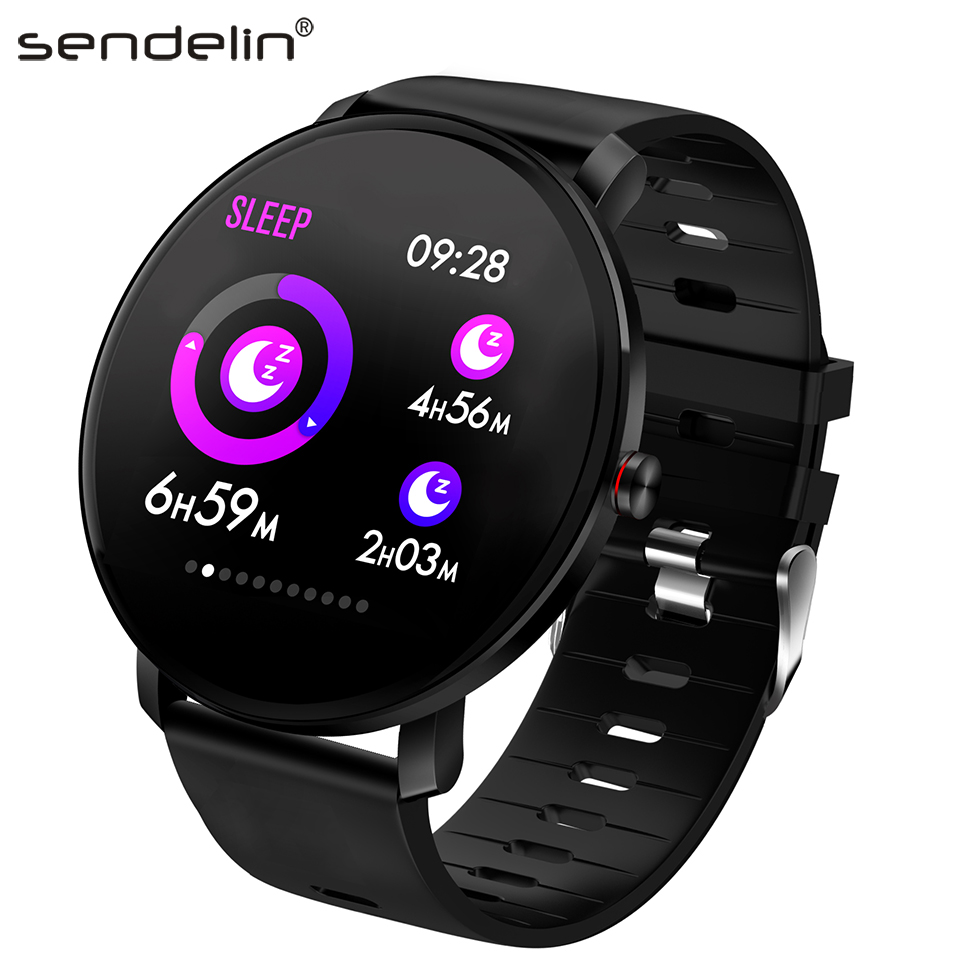 Fitness Bracelet 2.5D Radius Display Multi-Sports Mode Activity Tracking Pressure Measurement Smart Watch Bluetooth for Android