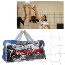 Outdoor Sports 30 * 3 Feet Volleyball Net for Indoor Training Beach Garden Schoolyard Backyard Volley Ball Net with Carry Bag