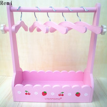 free shiping hot sale armoire /wardrobe/ garderobe/ clothespress for pet dog cat clothes display. with 5pcs Coat hanger(China)