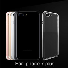 For Iphone7 7Plus Camera To Protect Mobile Phone Shell Dustproof Transparent Simple Creative ltra-thin TPU Phone Cover/Sleeve