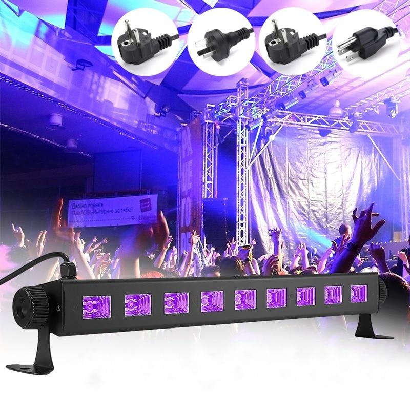 LED Purple Stage Lighting Effect UV Lamp Light UK/EU/US/AU Plug For Disco KTV Club Bar Party Indoor Holiday Decoration Lighting<br>