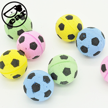 Cat EVA Ball 20pcs per lot  Soft Foam Soccer  design Play Balls For cat