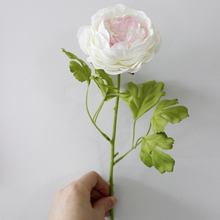 1 Piece Silk Peony Artificial  Flowers Festival Party Decorative Flower Wedding Display Flower for Home Decoration VBC65 P50