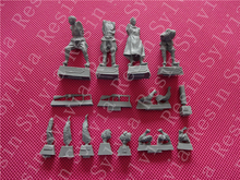 "Resin toys ""S-3556 Russian Gun Crew,1943-45 Compatible with all types of Russian WWII cannons and howitzers  "" Free shipping"