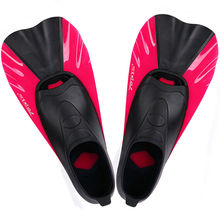 TOPIS swimming training game short fins Diving Snorkeling diving equipment flipper frog shoes SF88 red XS (36/37 code)