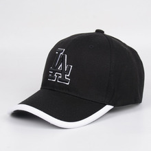 LA Baseball Hat Fashion Mam Peaked Cap NY Brand Hat Package Edge Superior Quality cotton Hat Foreign Trade Heat Pink couple Caps