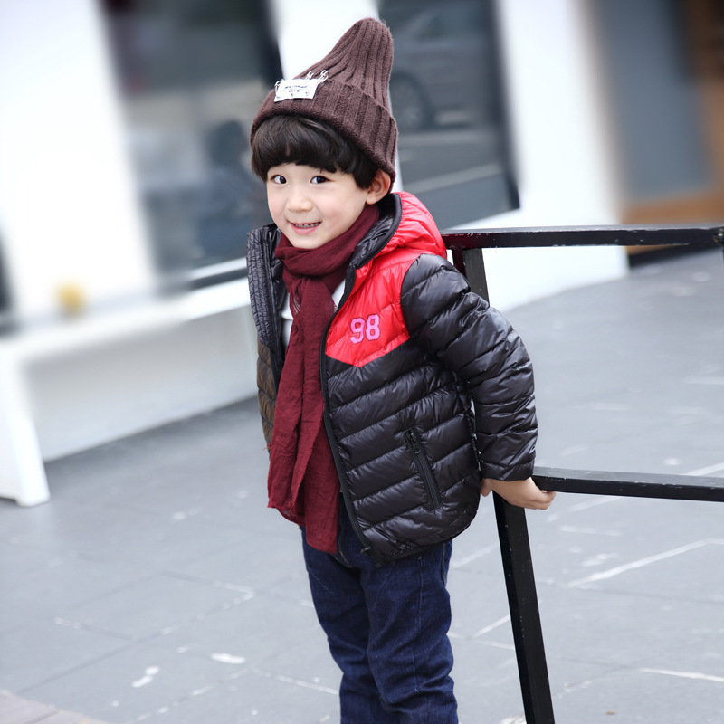 2017 Special Offer Sale Acetate 80% Winter Coat Winter Childrens Fashion Baby Down Jacket, And Fight Color Hooded Warm Jacket Одежда и ак�е��уары<br><br><br>Aliexpress