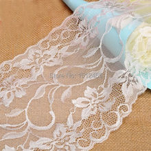 Hot sale ivory Lace Chic Floral  Table Runner Vintage Rustic Wedding Party Favors 5*0.17m (HTR03-5)