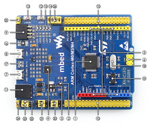 module STM32 STM32F302R8T6 ARM Cortex M4 Development Board Compatible with Original NUCLEO-F302R8 Comes With Mini USB Cable