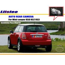 Liislee For Mini cooper R50 R52 R53 R56 -  Reverse Back Up Camera / Parking Camera / CCD RCA NTST PAL / License Plate Light OEM