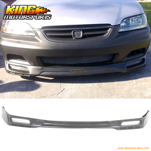 Fit For 98 99 00 01 02 Honda Accord Coupe 2Dr Front Bumper Lip Spoiler Urethane