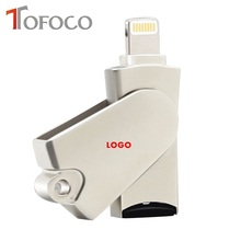 TOFOCO USB 2.0 Micro SD SDHC TF OTG Card Reader Writer For iPhone 5/5s/6/6 plus/6s/6splus/ipad/itouch/Macbook