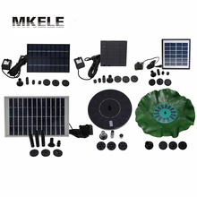 Hot Sale Small Solar Fountain Pump Yard Garden Landscape Pond Fish Pond Water Cycle Many Style Free(China)