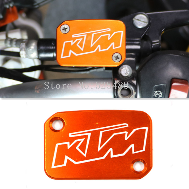 For KTM DUKE 125/200/390/690/990 RC200/390 Motorcycle Accessories Front Brake Clutch Master Cylinder Fluid Reservoir Cover Cap<br><br>Aliexpress