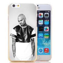 1349-HOQE Popular Hip-hop singer Chris Brown Transparent Hard Case Cover for iPhone 6 6s plus 5 5s 5c 4 4s Phone Cases