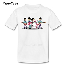The Beatles rock T Shirt Kid 2017 T-shirt Cotton O Neck Baby Tshirt Children Infant Toddler Tee-shirt For Boy Girl